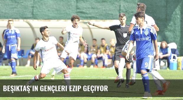Beşiktaş'ın gençleri ezip geçiyor