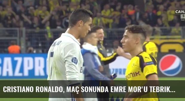Cristiano Ronaldo, Maç Sonunda Emre Mor'u Tebrik Etti