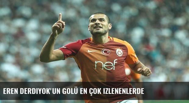 Eren Derdiyok'un golü en çok izlenenlerde