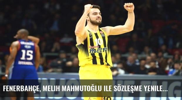 Fenerbahçe, Melih Mahmutoğlu ile sözleşme yeniledi