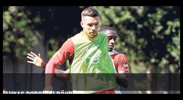 Lukas Podolski döndü