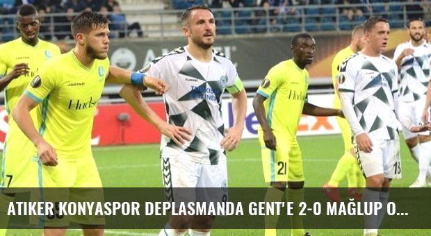 Atiker Konyaspor Deplasmanda Gent'e 2-0 Mağlup Oldu