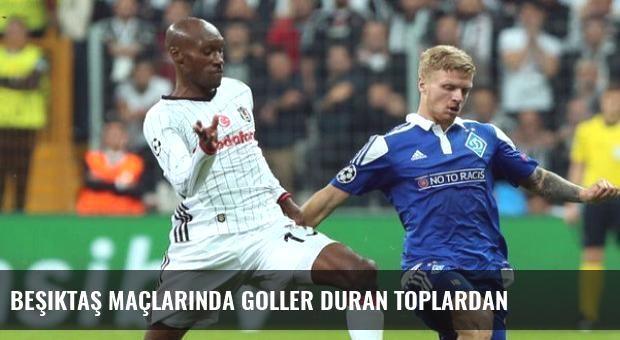 Beşiktaş Maçlarında Goller Duran Toplardan