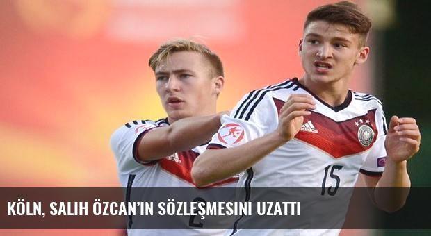 Köln, Salih Özcan'ın sözleşmesini uzattı