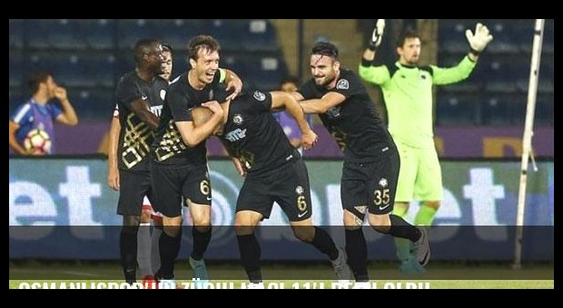 Osmanlıspor'un Zürih maçı 11'i belli oldu