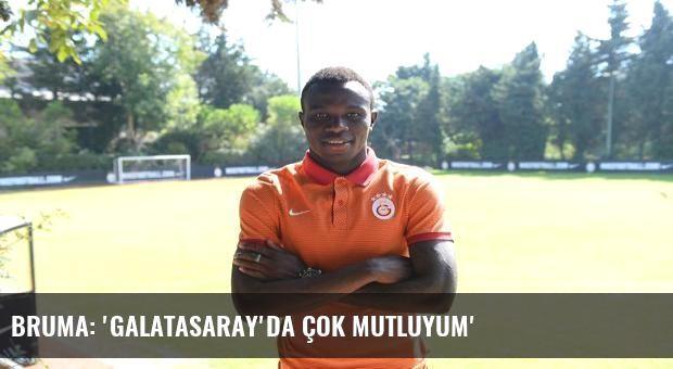 Bruma: 'Galatasaray'da çok mutluyum'