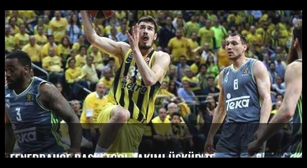 Fenerbahçe Basketbol Takımı Üsküp'te