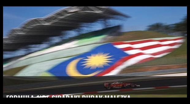 Formula 1'de sıradaki durak:Malezya