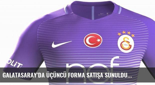 Galatasaray'da üçüncü forma satışa sunuldu