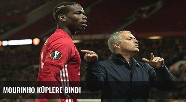 Mourinho küplere bindi