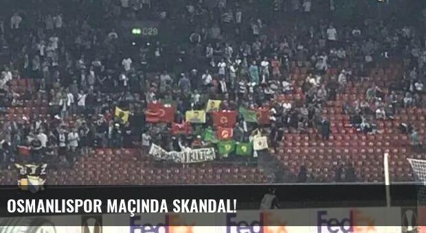 Osmanlıspor maçında skandal!