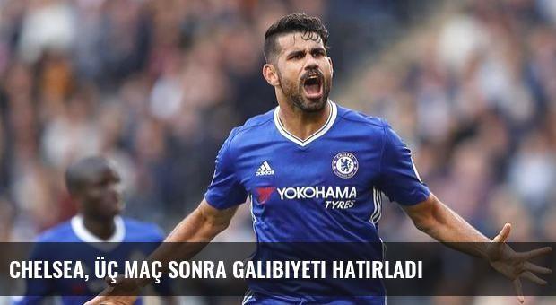 Chelsea, üç maç sonra galibiyeti hatırladı