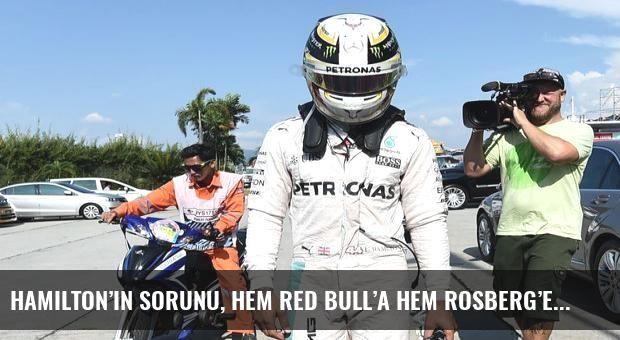 Hamilton'ın sorunu, hem Red Bull'a hem Rosberg'e yaradı