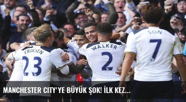 Manchester City'ye büyük şok! İlk kez...