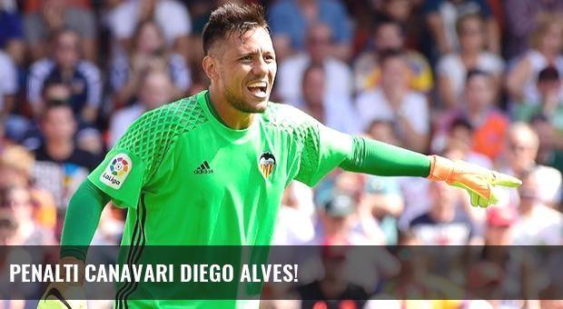 Penaltı canavarı Diego Alves!
