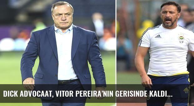 Dick Advocaat, Vitor Pereira'nın gerisinde kaldı
