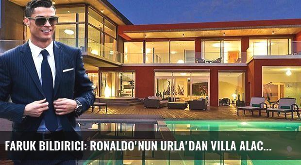 Faruk Bildirici: Ronaldo'nun Urla'dan Villa Alacağı Haberleri Yalan