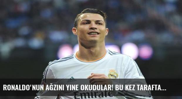 Ronaldo'nun ağzını yine okudular! Bu kez taraftara...