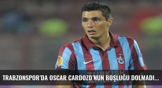 Trabzonspor'da Oscar Cardozo'nun boşluğu dolmadı