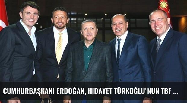 Cumhurbaşkanı Erdoğan, Hidayet Türkoğlu'nun TBF Başkanı Olmasını İstiyor
