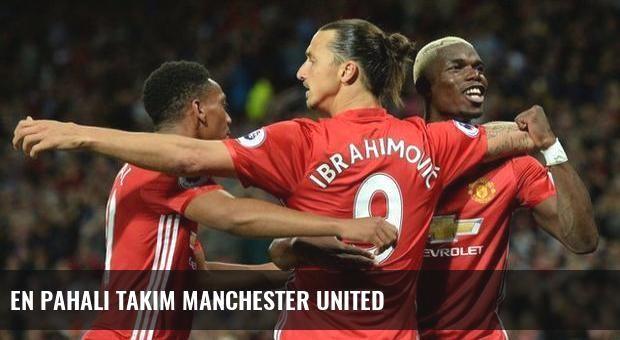 En pahalı takım Manchester United
