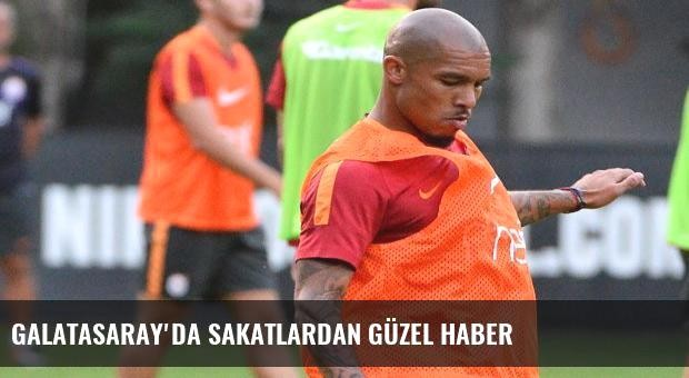 Galatasaray'da sakatlardan güzel haber