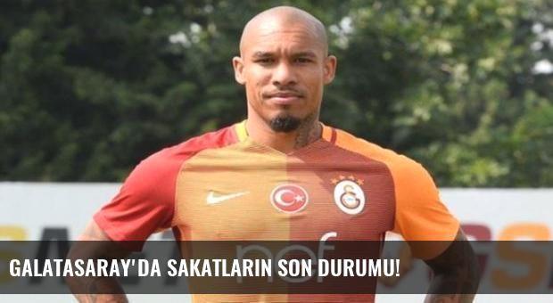 Galatasaray'da sakatların son durumu!