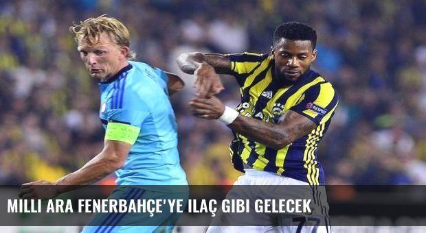 Milli ara Fenerbahçe'ye ilaç gibi gelecek