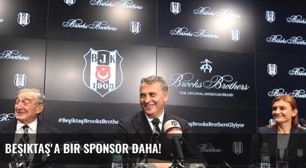 Beşiktaş'a bir sponsor daha!