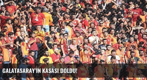 Galatasaray'ın kasası doldu!