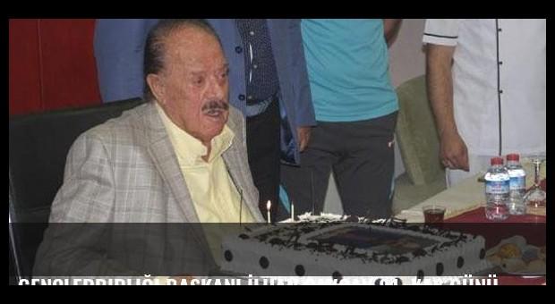 Gençlerbirliği Başkanı İlhan Cavcav 81. yaş gününü futbolcularıyla kutladı