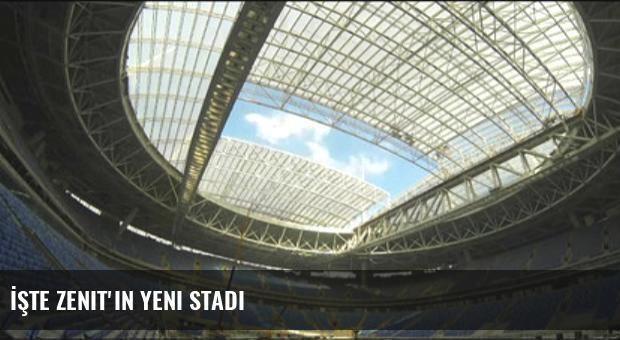 İşte Zenit'in Yeni Stadı
