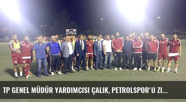 TP Genel Müdür Yardımcısı Çalık, Petrolspor'u Ziyaret Etti