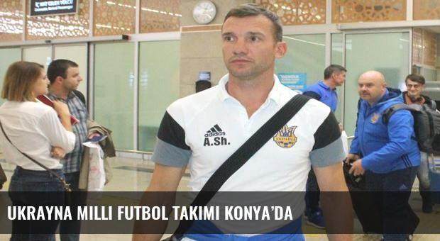 Ukrayna Milli Futbol Takımı Konya'da
