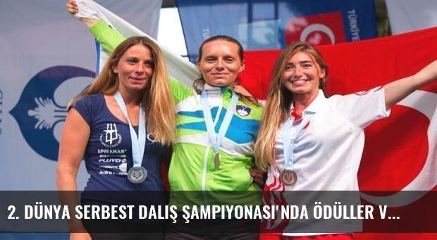 2. Dünya Serbest Dalış Şampiyonası'nda ödüller verildi