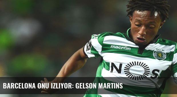 Barcelona onu izliyor: Gelson Martins