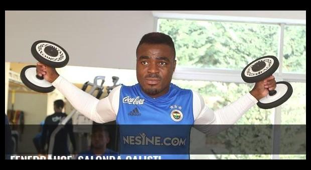 Fenerbahçe, salonda çalıştı