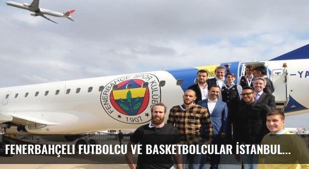 Fenerbahçeli futbolcu ve basketbolcular İstanbul Airshow Fuarı'nda