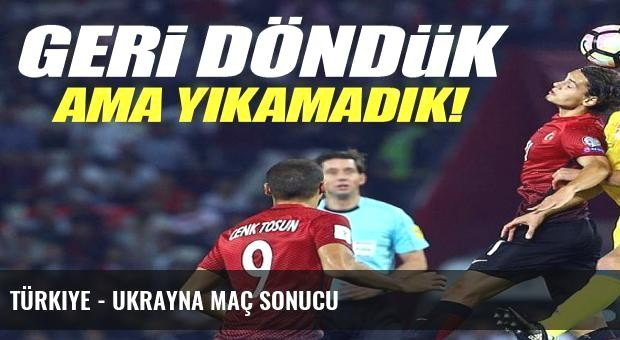 Türkiye - Ukrayna maç sonucu