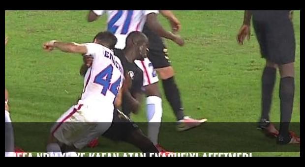 UEFA Ndiaye'ye kafan atan Enache'yi affetmedi