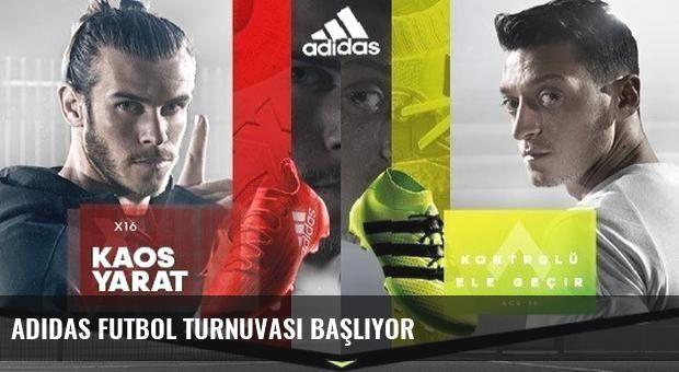 Adidas Futbol Turnuvası Başlıyor