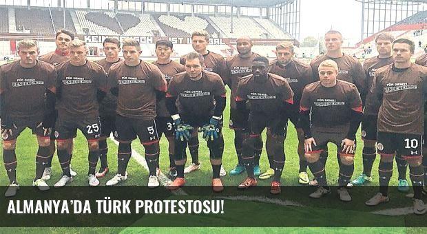 Almanya'da Türk protestosu!