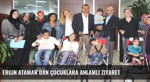 Ergin Ataman'dan çocuklara anlamlı ziyaret