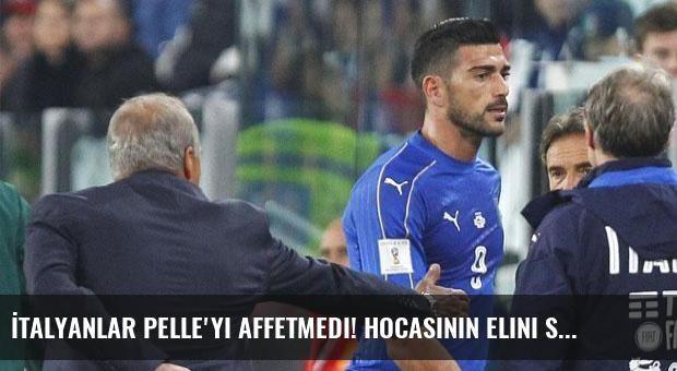 İtalyanlar Pelle'yi affetmedi! Hocasının elini sıkmayınca...
