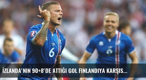 İzlanda'nın 90+8'de Attığı Gol Finlandiya Karşısında Galibiyeti Getirdi