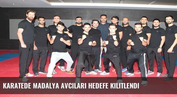 Karatede madalya avcıları hedefe kilitlendi