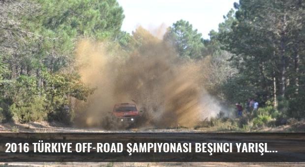2016 Türkiye Off-road Şampiyonası Beşinci Yarışlarının İlk Etabı Tamamlandı