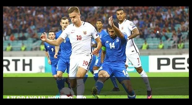 Azerbaycan-Norveç: 1-0