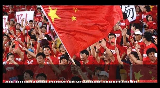 Çin milli takımı Suriye'ye yenilince taraftarlar sokağa döküldü