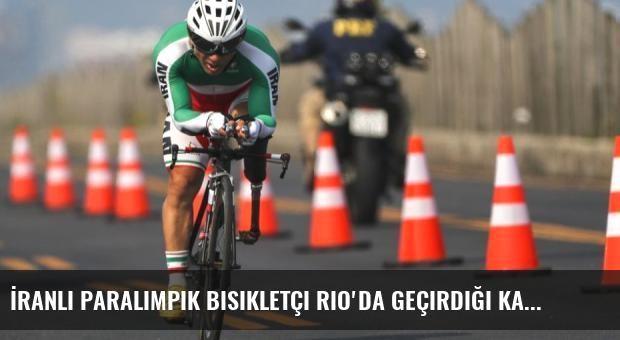 İranlı Paralimpik Bisikletçi Rio'da Geçirdiği Kazada Öldü